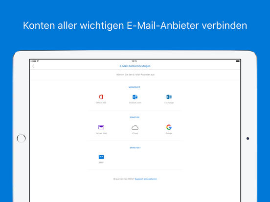 Microsoft Outlook – E-Mail und Kalender Screenshot