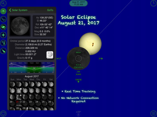 GoSkyWatch Planetarium - Astronomy Night Sky Guide Screenshot