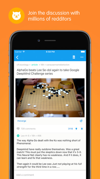 Reddit Official App: All That's Trending and Viral Screenshot
