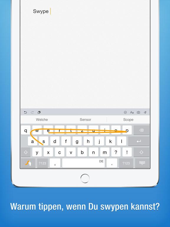 Swype Screenshot