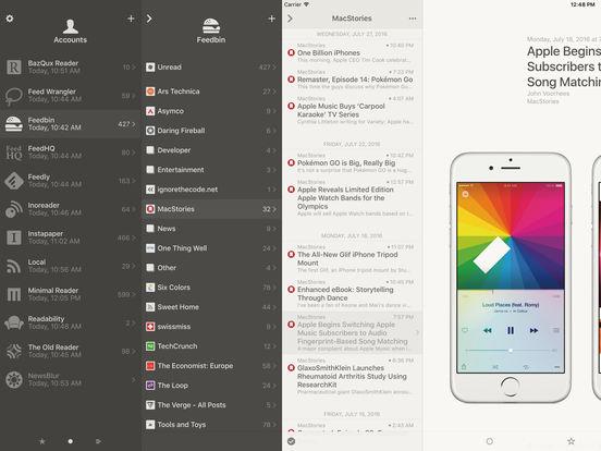 Reeder 3 Screenshot