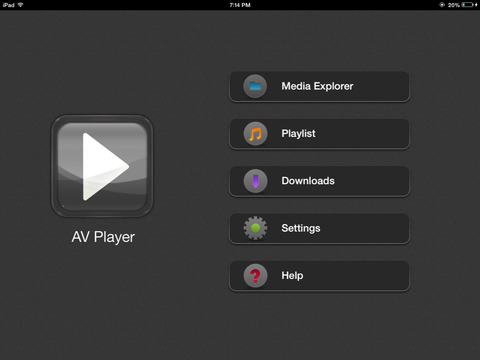 AVPlayer -Powerful Media Player Screenshot