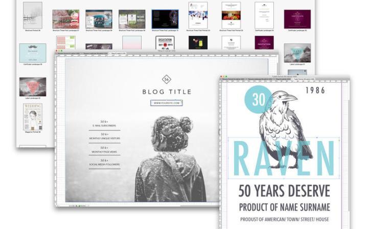 Templates for InDesign – Alungu Designs 2.0 | Mac Torrent