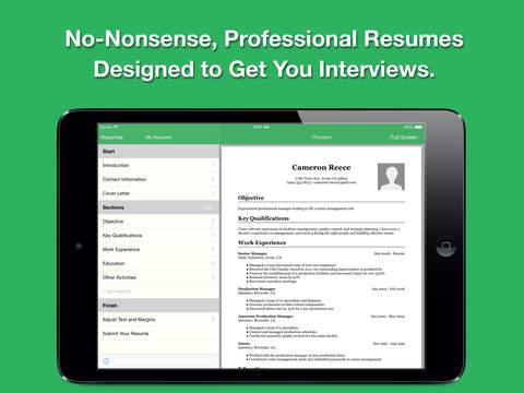 smart pro and cv designer screenshot