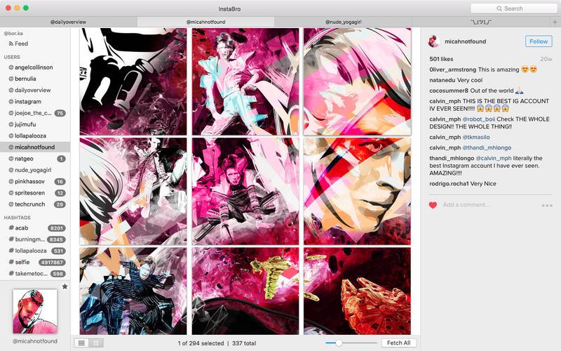 InstaBro for Mac 4.2 激活版 – 优秀的Instagram照片下载工具-麦氪派(WaitsUn.com | 爱情守望者)