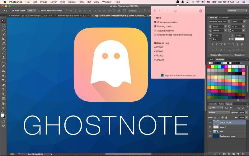 GhostNote for Mac 1.5.3 破解版 - 文件标注备忘神器