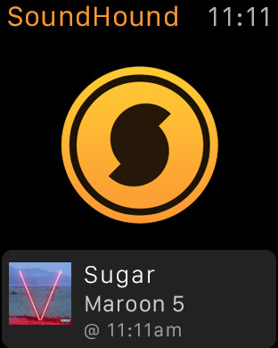 SoundHound ∞ apple watch