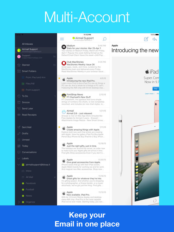 Airmail - Your Mail With You Screenshot
