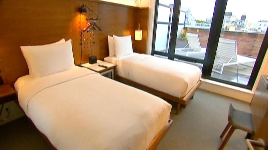 book a hotel room through a third party