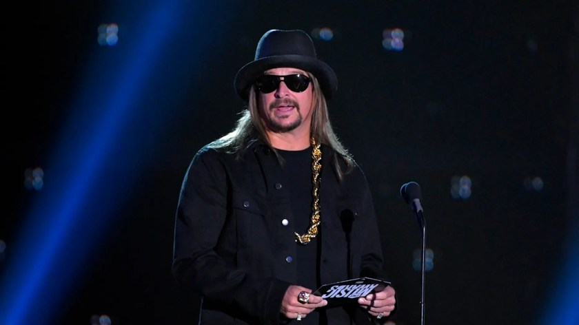 Kid Rock paid for the layaway items at his local Walmart.