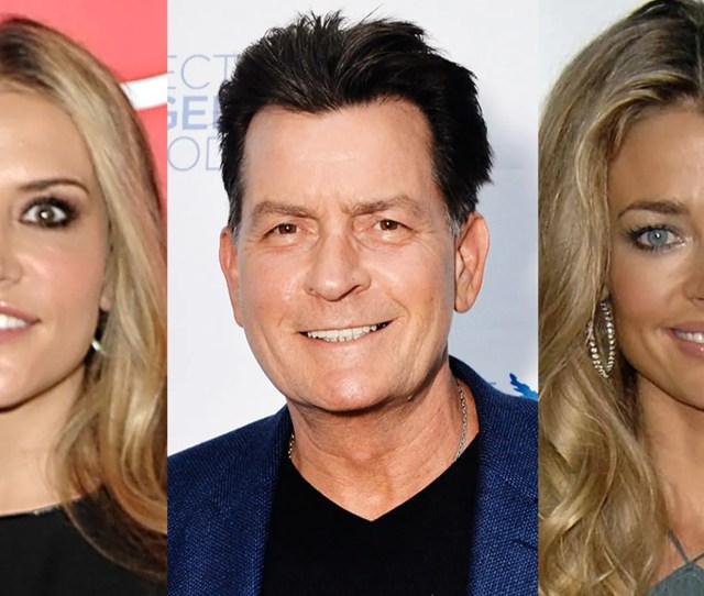 Charlie Sheen Reportedly Filed Requests To Modify His Child Support Payments To Ex Wives Denise