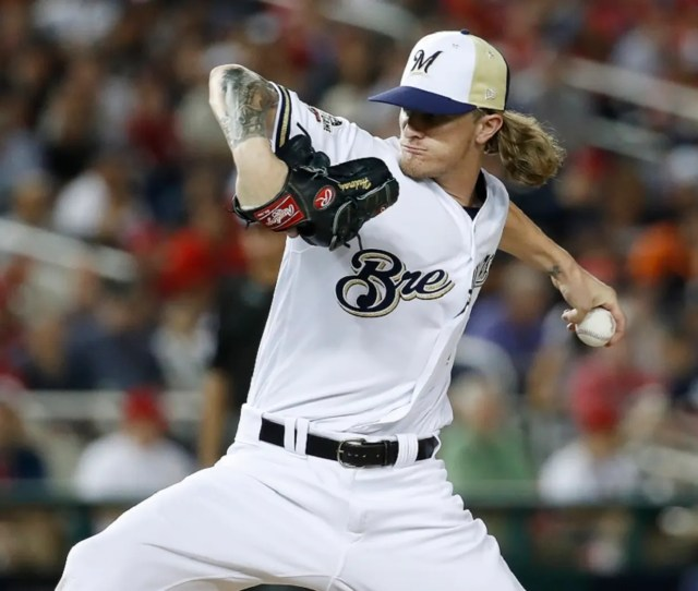 Milwaukee Brewers Reliever Josh Hader On Saturday Was Greeted With A Standing Ovation By His Fans