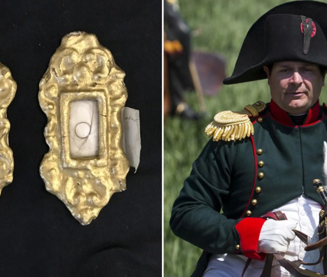 The Locket Containing Locks Of Hair From Napoleon And Empress Josephine Henry Aldridge