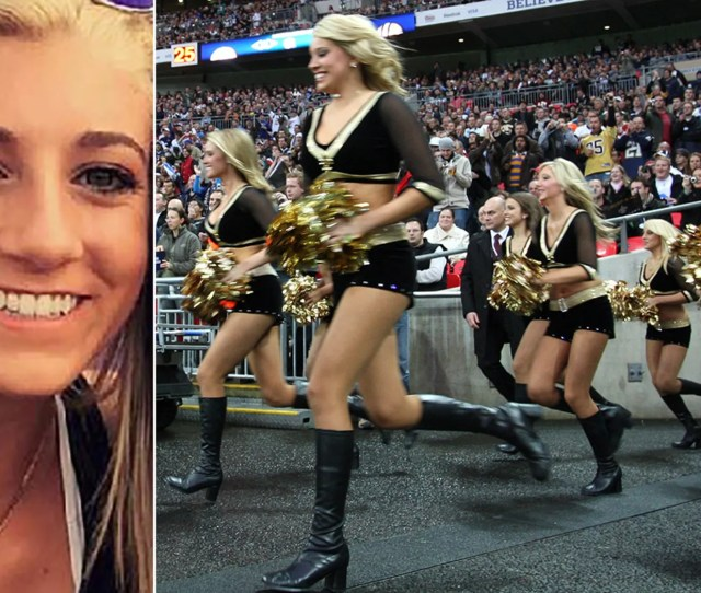 Bailey Davis  Left Claims The New Orleans Saints Holds Cheerleaders And Players