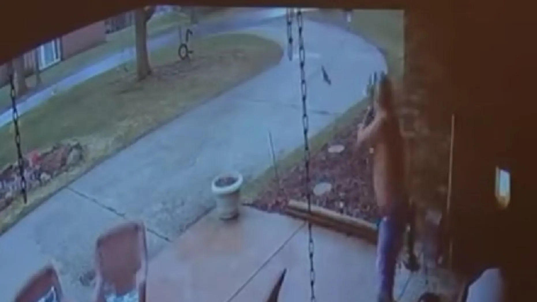 Security footage captured a Michigan man shooting at a teenager.