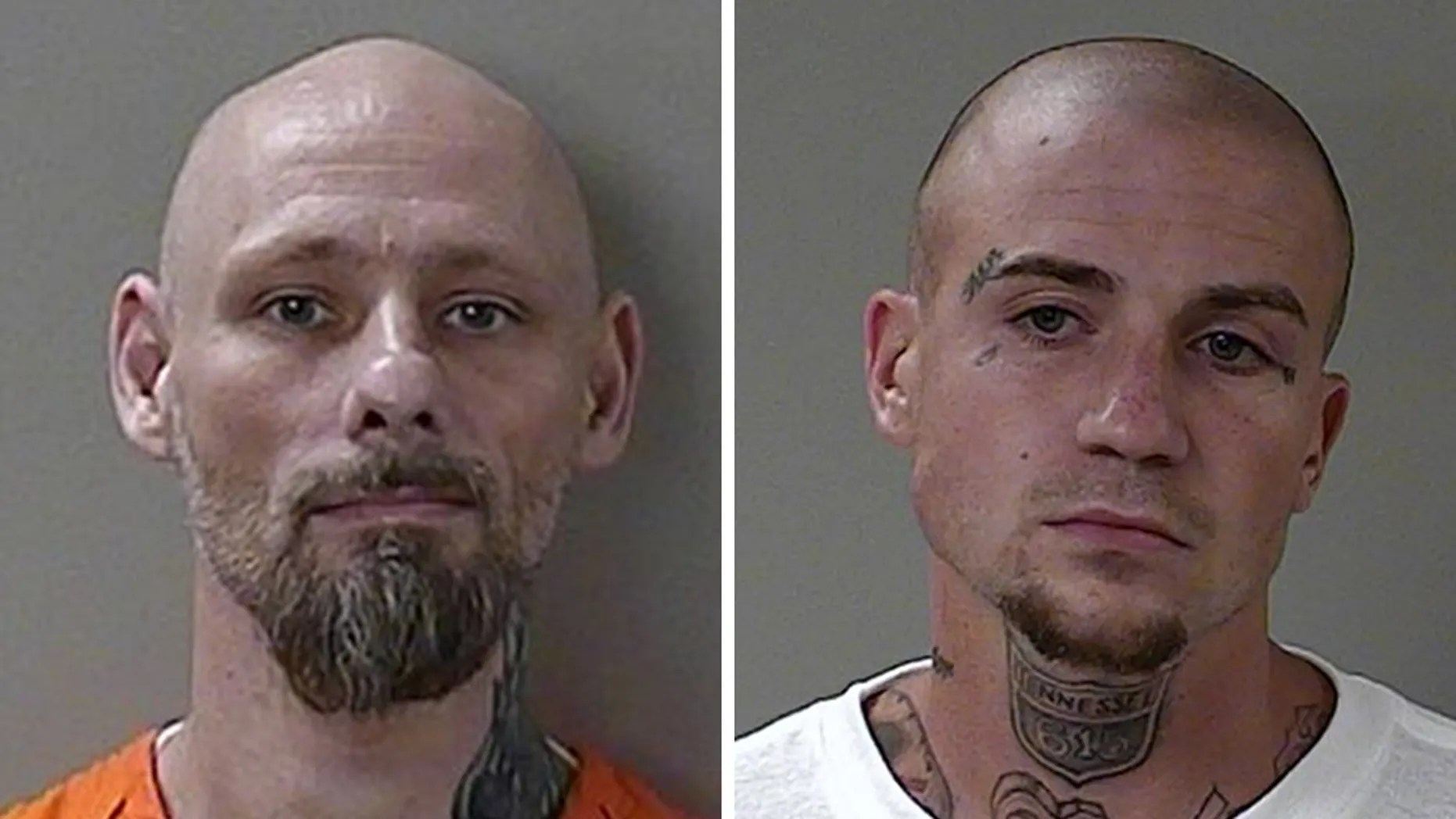 Two Tennessee inmates who escaped from custody earlier this week were captured on Thursday and are expected to be hit with new charges, authorities said.