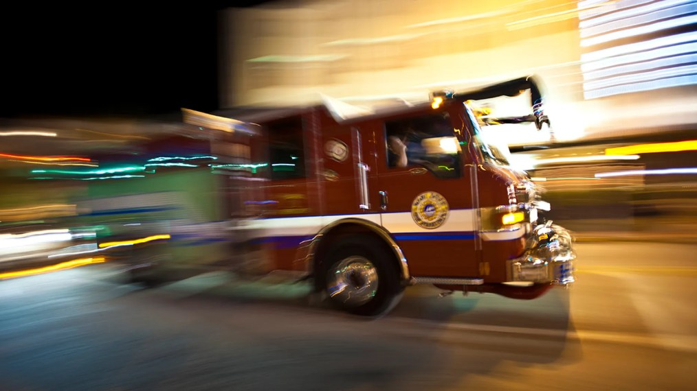 Maryland firefighters were suspended after an incident at a house fire.