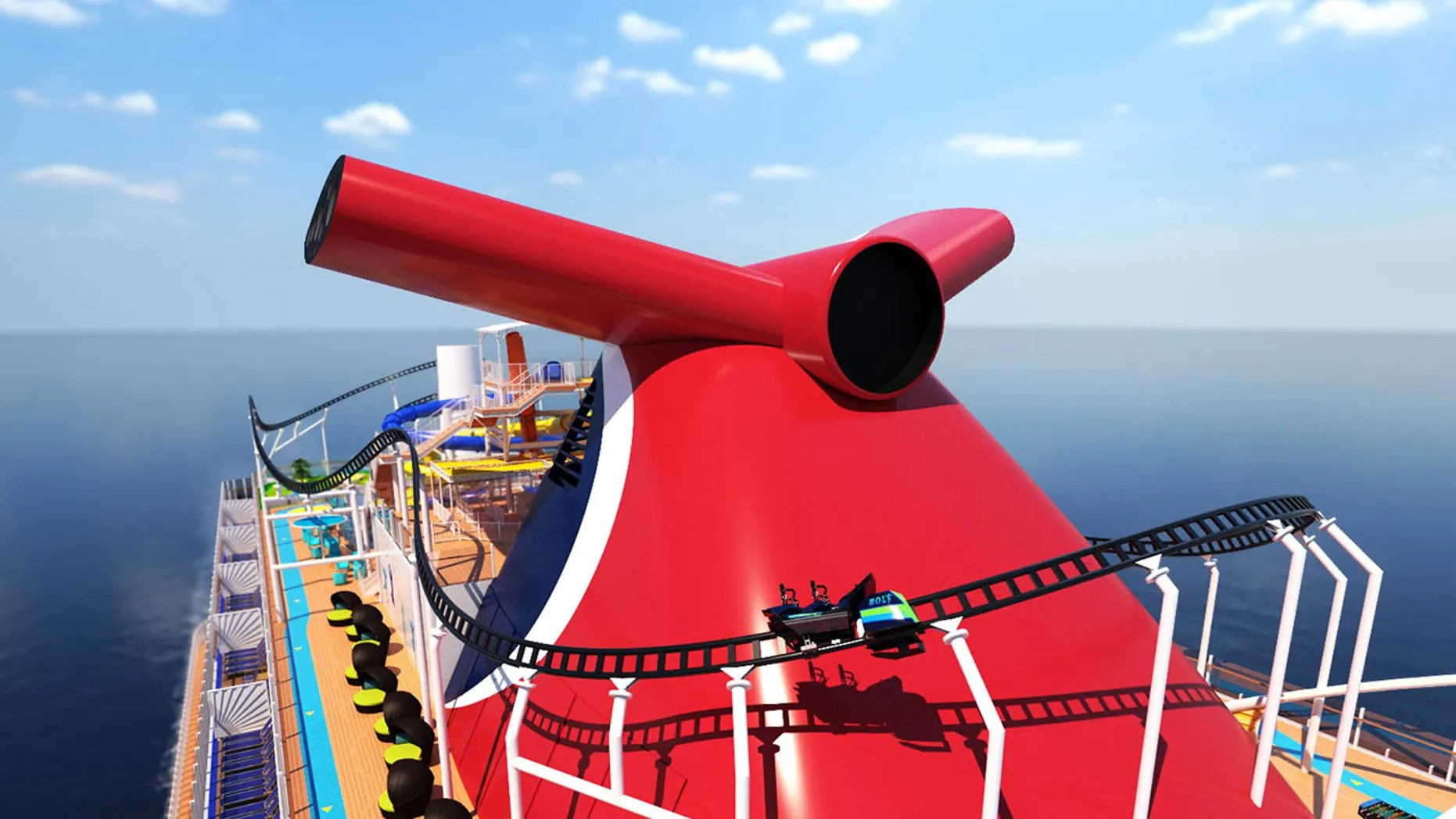 Carnival Cruise Line S New Ship Will Feature First Roller