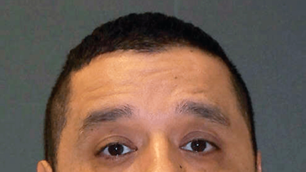 This photo provided by the Texas Department of Criminal Justice shows death-row inmate Joseph Garcia, who is set to die by lethal injection Tuesday, Dec. 4, 2018, for the December 2000 shooting death of 29-year-old Aubrey Hawkins _ a police officer with the Dallas suburb of Irving _ during a robbery. (Texas Department of Criminal Justice via AP)