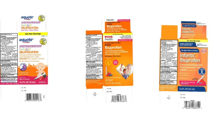 The recalled products are sold at Walmart, CVS and Family Dollar stores nationwide.