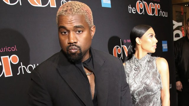 "Kanye West and Kim Kardashian at ""The Cher Show"" Broadway opening night"
