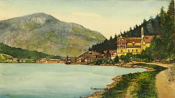 Hitler did most of his artwork in the years between 1908 and 1913 when he wandered about Vienna.