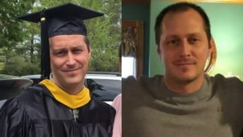 Jonathan Hogue, 33, was found dead days after he was reported missing.