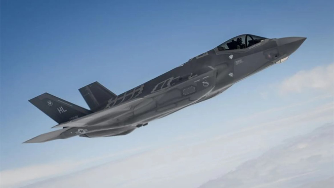 The U.S. Air Force's F-35A Lightning II arrived in the Middle East for the first time. (U.S. Air Force photo/Staff Sgt. Kate Thornton, File)