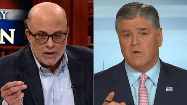 Mark Levin told Sean Hannity the media has made an all-out push to 'take the president out' during a special episode of
