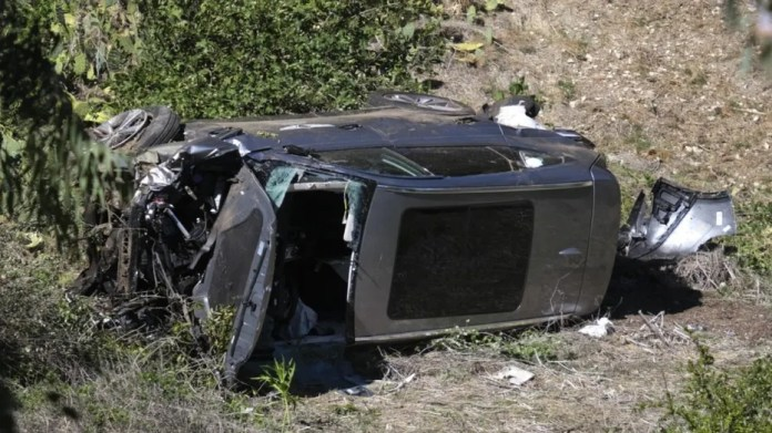 Tiger Woods SUV runs at 'high rate of speed' before rollover: report