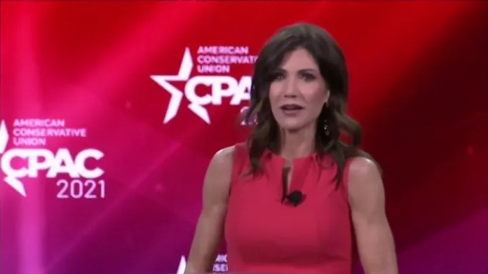 Noem moves to Fauci, Cuomo in COVID-centric CPAC speech
