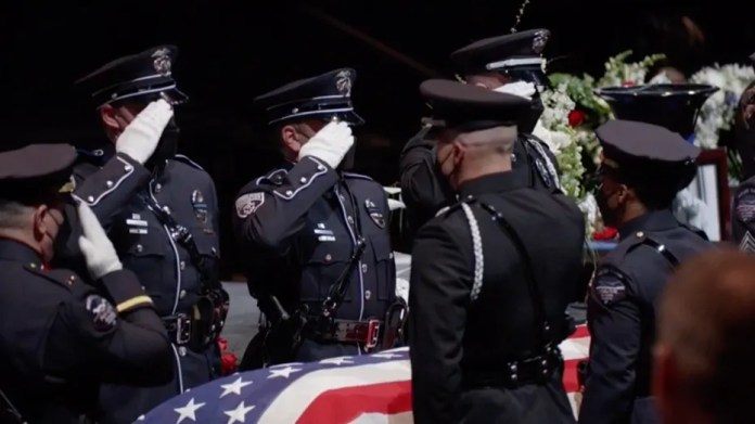Remembering Officer Eric Talley: Boulder Police has memorial service
