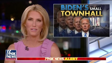Ingraham: Biden's CNN town hall was a 'pathetic exercise of fawning and futility' | Fox News
