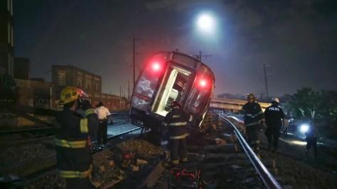 Amtrak wreck in Philadelphia
