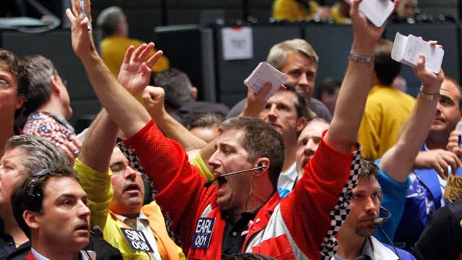 CBOT Trader Yelling