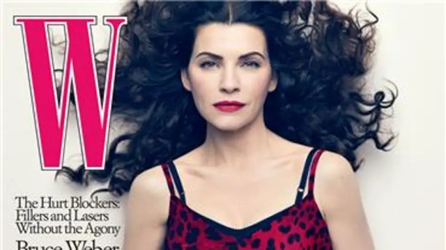 Julianna Margulies Covers W