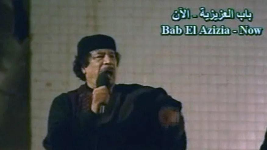 Qaddafi Politics