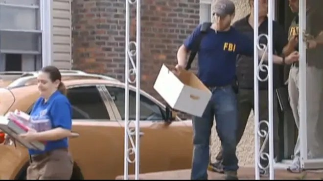baldwin FBI Raids NYC