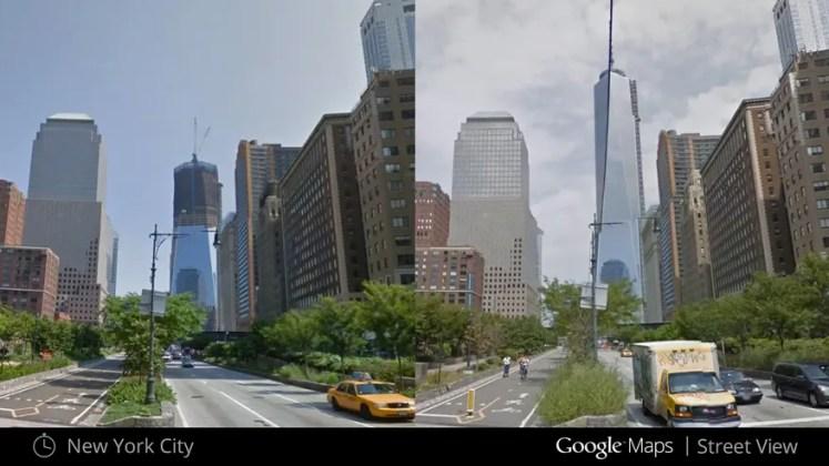 Google Maps nous fait voyager dans le temps