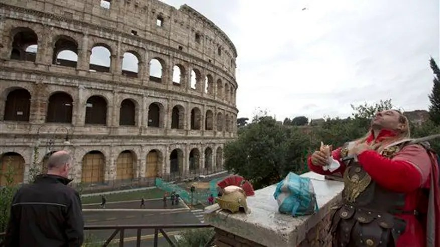 Unexpected find: Seating plan for Rome's Colosseum