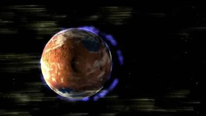 Marte perdio su atmosfera en el espacio