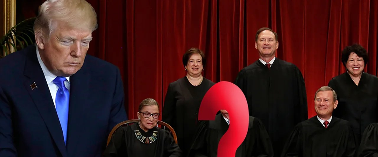 Justice Kennedy's possible retirement would give president chance to tilt high court to the right