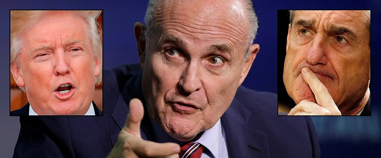 Giuliani joins Team Trump, vowing to bring an end to Mueller probe in 'a week or two'