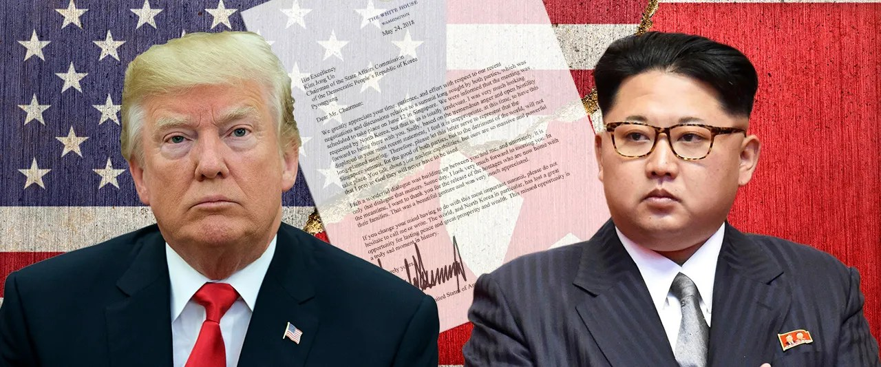 President Trump pens letter to Kim calling off North Korea summit over dictator's 'open hostility'