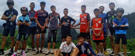 All members of soccer team safely extracted from flooded mountain cavern