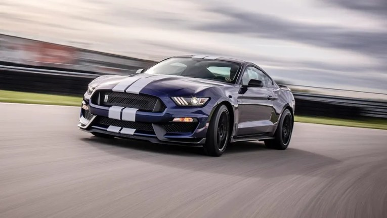 Not dead yet  Ford Mustang Shelby GT350 returning for 2019   Fox News Rumors of the Ford Mustang Shelby GT350 s demise have been greatly  exaggerated
