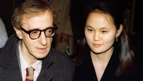 Image result for woody allen, mia farrow and soon-yi