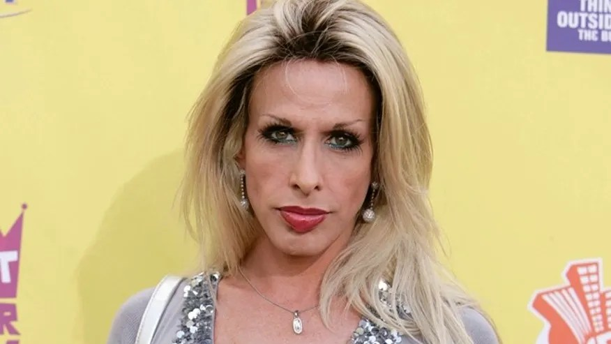 "In this July 22, 2007 file photo, Alexis Arquette arrives at the ""Comedy Central Roast of Flavor Flav"" in Burbank, Calif."
