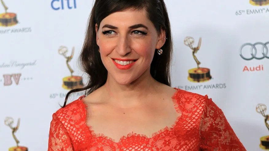 Actress Mayim Bialik arrives for the 65th Emmy Awards Performers Nominee Reception in West Hollywood, California September 20, 2013.