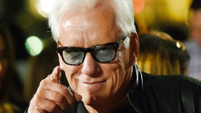 """FILE - In this Nov. 2, 2016 file photo, actor James Woods poses at the premiere of the film """"Bleed for This"""" at the Samuel Goldwyn Theater in Beverly Hills, Calif. Woods said he is retiring from the entertainment industry. The news was included in a press release issued Friday, Oct. 6, 2017, by Woods' real estate agent offering Woods' Rhode Island lake house for sale. (Photo by Chris Pizzello/Invision/AP, File)"""